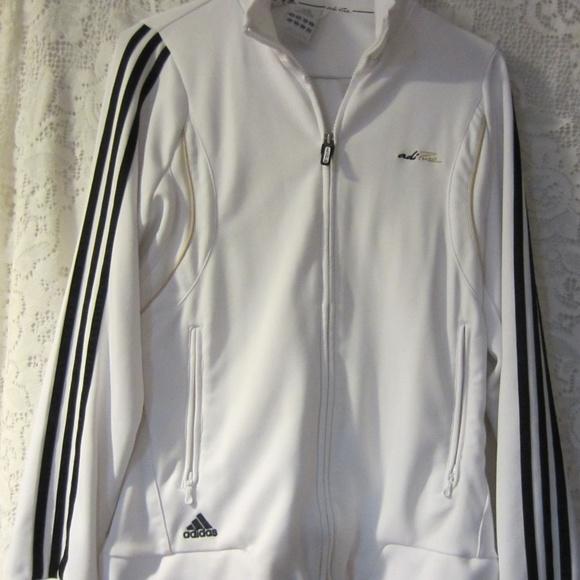 Womens Adidas Clima 365 white jacket size med
